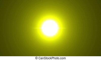 estrondo grande, amarela