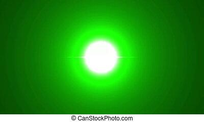 estrondo grande, verde
