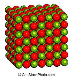 estructura, lime), cristal, calcio, óxido, (cao, Cal viva,...