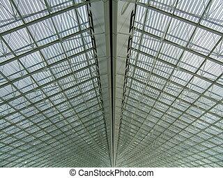estructura, metálico