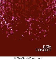 estructura, red, tela, concepto, malla,  polygonal, roto, conexión, líneas, conectado, elemento,  digital, tecnología, futurista,  3D