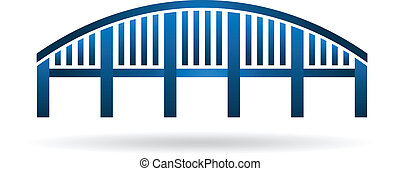 estrutura, arco, image., ponte