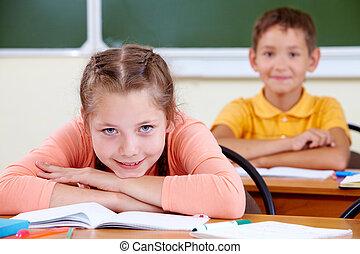 estudante primário