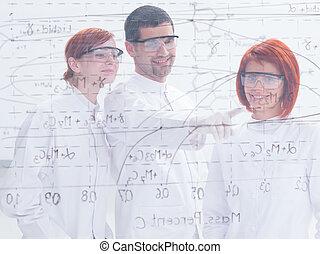 estudante, professor, laboratório