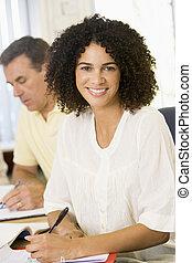 estudantes, estudar, adulto, focus), (selective, tabela
