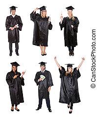 estudantes, graduado