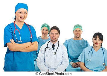 estudantes, professor, doutor