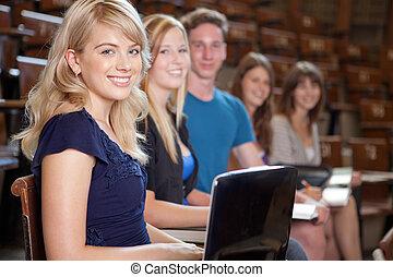 estudantes, universidade
