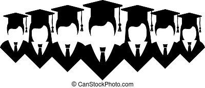 estudantes, universidade, desenho