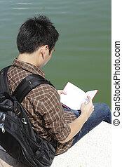 estudar, estudante universitário
