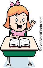 estudiante, niño