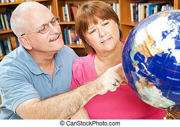 estudiantes, Adulto, geografía
