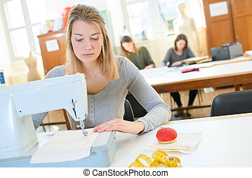 estudiantes, diseño de la manera