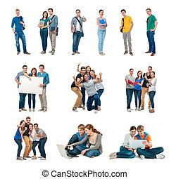 estudiantes, grupo