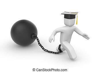 estudiantes, préstamo