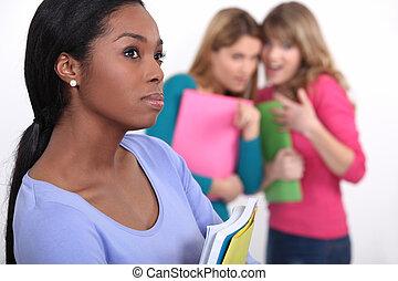 estudiantes, ser, intimidado