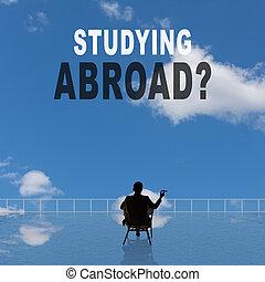 estudiar, abroad?