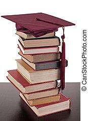 estudiar, para, graduación