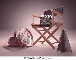 estudio, cine