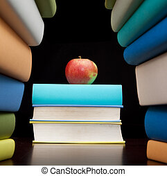 estudio, educación, libros