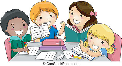 estudio, grupo