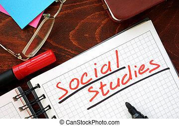 estudos, social