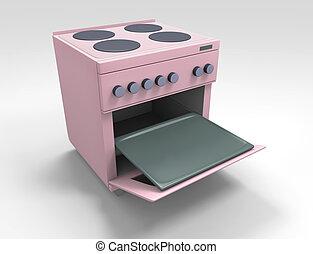 estufa, cocina
