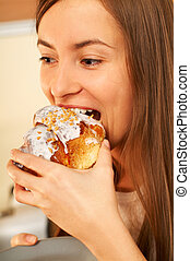 eszik torta