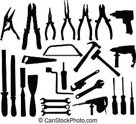 eszközök, gyűjtés