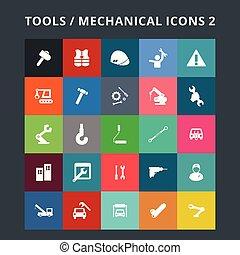 eszközök, ikonok