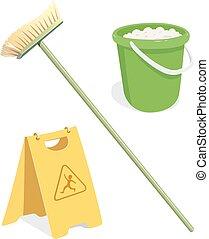 eszközök, takarítás