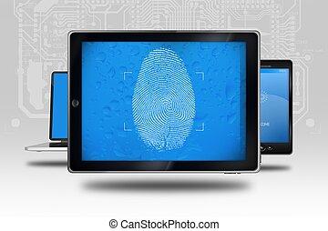 eszköz, személyazonosság, ellenőriz