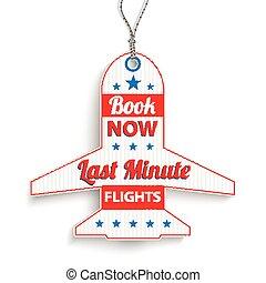 et Price Sticker Last Minute Book Now - Price sticker for ...