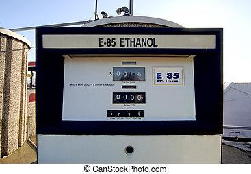 etanol, drivmedel pumpa