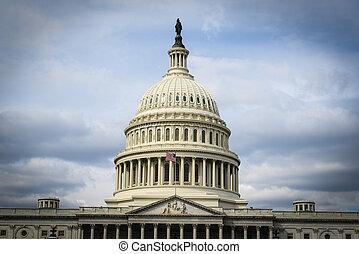 etats, uni, capitol hill