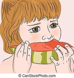 etend watermelon, kind