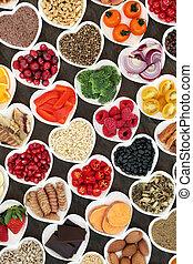 etenswaar voeding, fantastisch, gezond hart