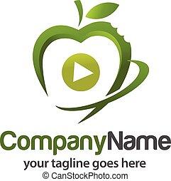 etenswaar voeding, logo