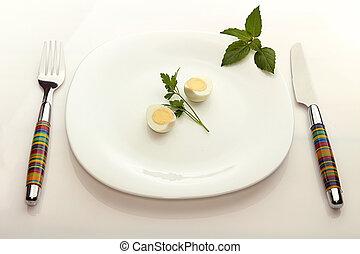 etentje, voor, dieet
