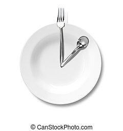 etentje, zakelijk