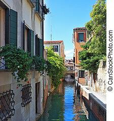 Narrow street - the channel - Eternal fantastic Venice....