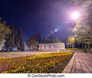 Eternal glory monument in Stavropol - Soviet World War II...