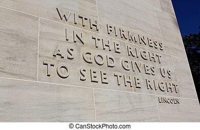 eternal light peace memorial quote