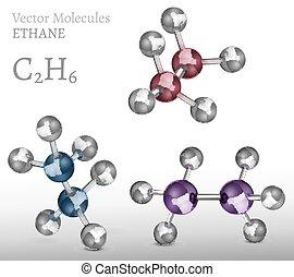 Ethane Molecule SET