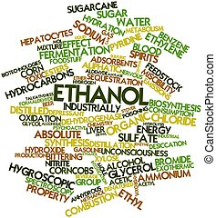 Ethanol - Abstract word cloud for Ethanol with related tags...