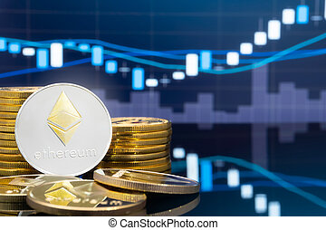 Ethereum and cryptocurrency investing concept. - Ethereum (...