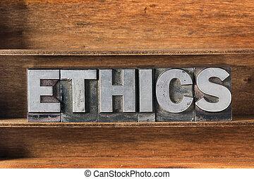 ethics met tray