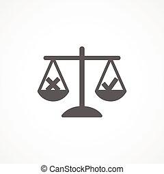 ethiek, pictogram