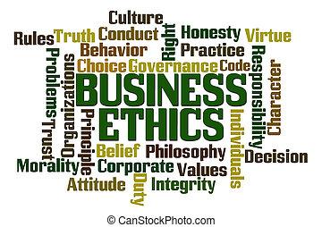 ethik, geschaeftswelt
