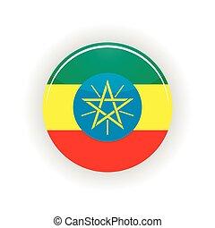 Ethiopia icon circle